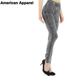 American Apparel High Waist Jean